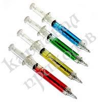 Ручка Шприц (синяя)