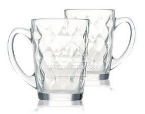 Набор чайных кружек Luminarc NEW MORNING DIAMOND 320 мл (N6230)