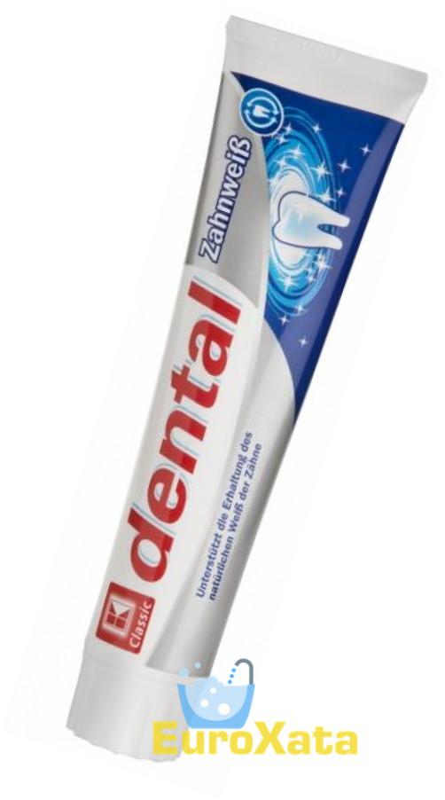 Зубная паста K-Classic Dental Zahnweiß (125мл) Германия