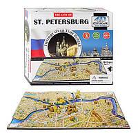 Объемный паззл 4D Cityscape Петербург Россия 1245 элементов (40036)