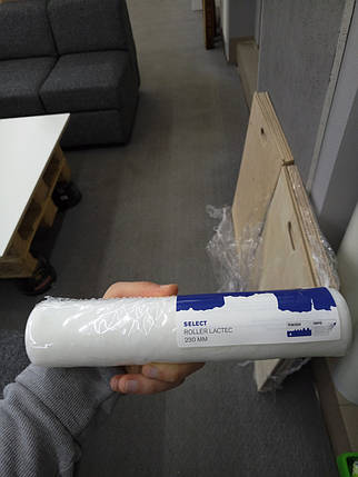 Валик Лактек с коротким ворсом 18 см Ø 38 мм, роллер QPT, фото 2