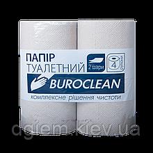 Туалетная бумага Buroclean 2сл. 4рул. серая