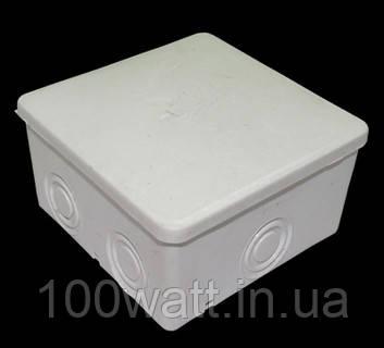Коробка монтажная наружная  Р7 без клеммы 85х85х50