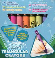 Набор из 16 трехгранных восковых мелков Crayola (52-016Т)