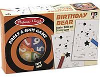 Настольная игра - крутилка-давилка Melissa & Doug День рождения медведя (4511)