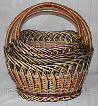Корзина плетеная из лозы