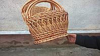 Набор плетеных корзин из 4 шт
