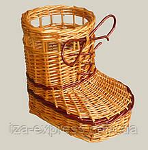 Плетеный сапог