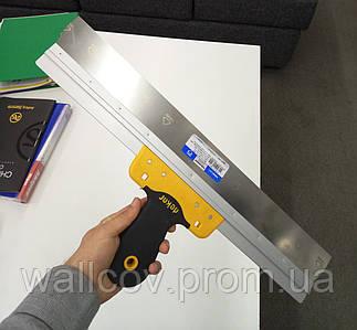 Шпатель для шпаклевки нержавеющий CURVED 400 мм