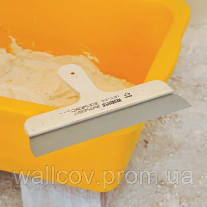 Шпатель из нержавеющей стали с деревянной ручкой 500 мм, фото 2