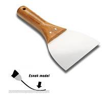 Шпатель soft grip  н\ж с деревянной ручкой 80 мм Decor Hassan