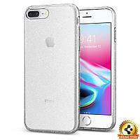 Чехол Spigen для iPhone 8Plus Liquid Crystal Glitterl, Crystal Quartz, фото 1