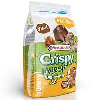 Versele-Laga Crispy Muesli Hamster Верселе-Лага Криспи мюсли, смесь корм для хомяков, крыс, мышей, песчанок.