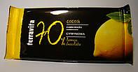 Шоколад черный Terravita с лимонной начинкой 100 г, фото 1