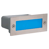 Светодиодный светильник встраиваемый в пол 1,2W синий Perle HOROZ