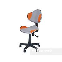 Детское ортопедическое кресло FunDesk LST3,серо-оранжевое, фото 1
