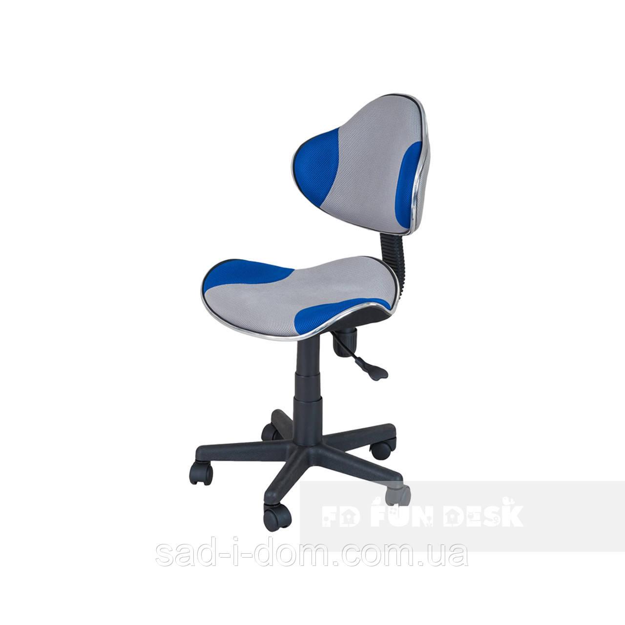 Детский стул для школьника FunDesk LST3 серо-голубой