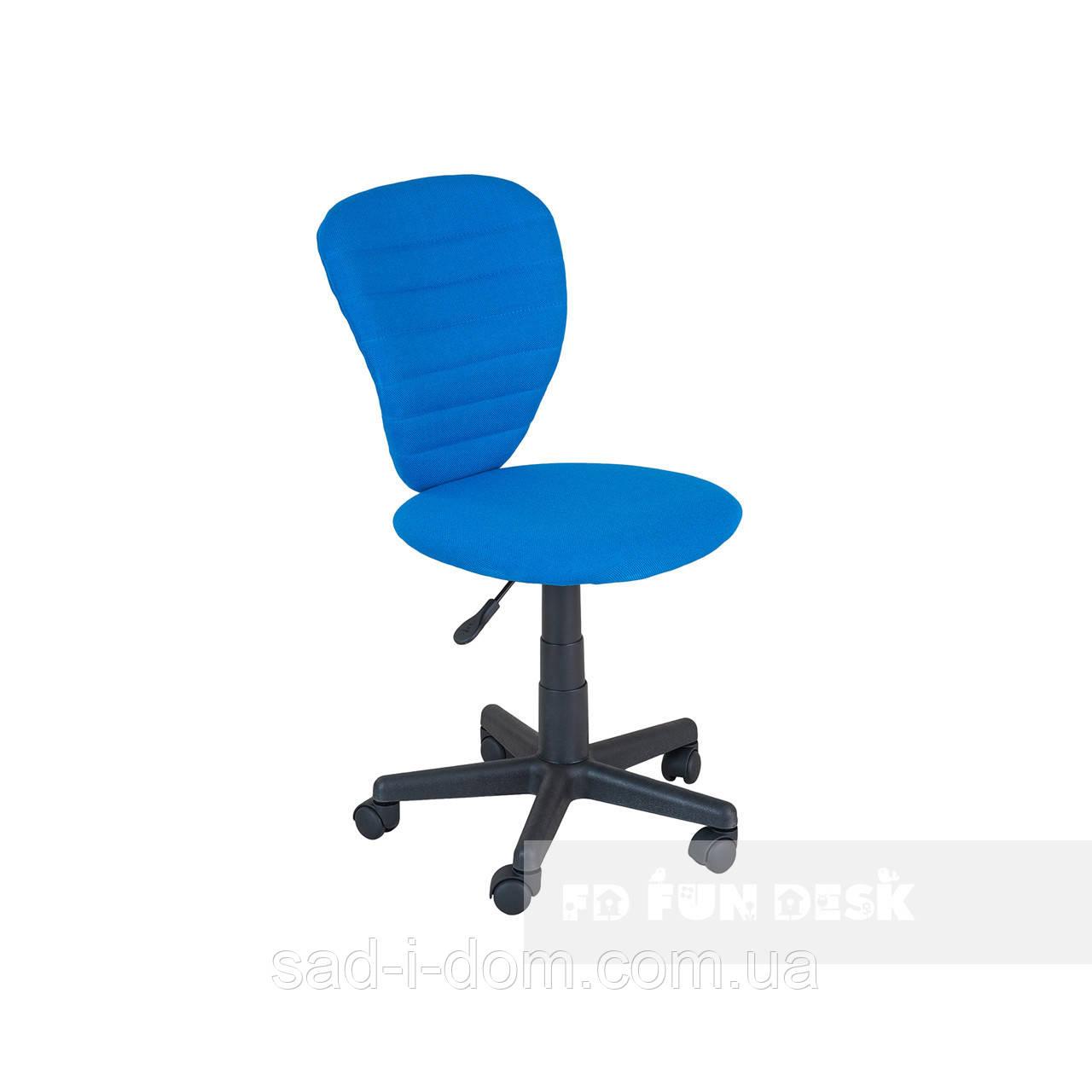 Детское ортопедическое кресло для школьника FunDesk LST2, голубое