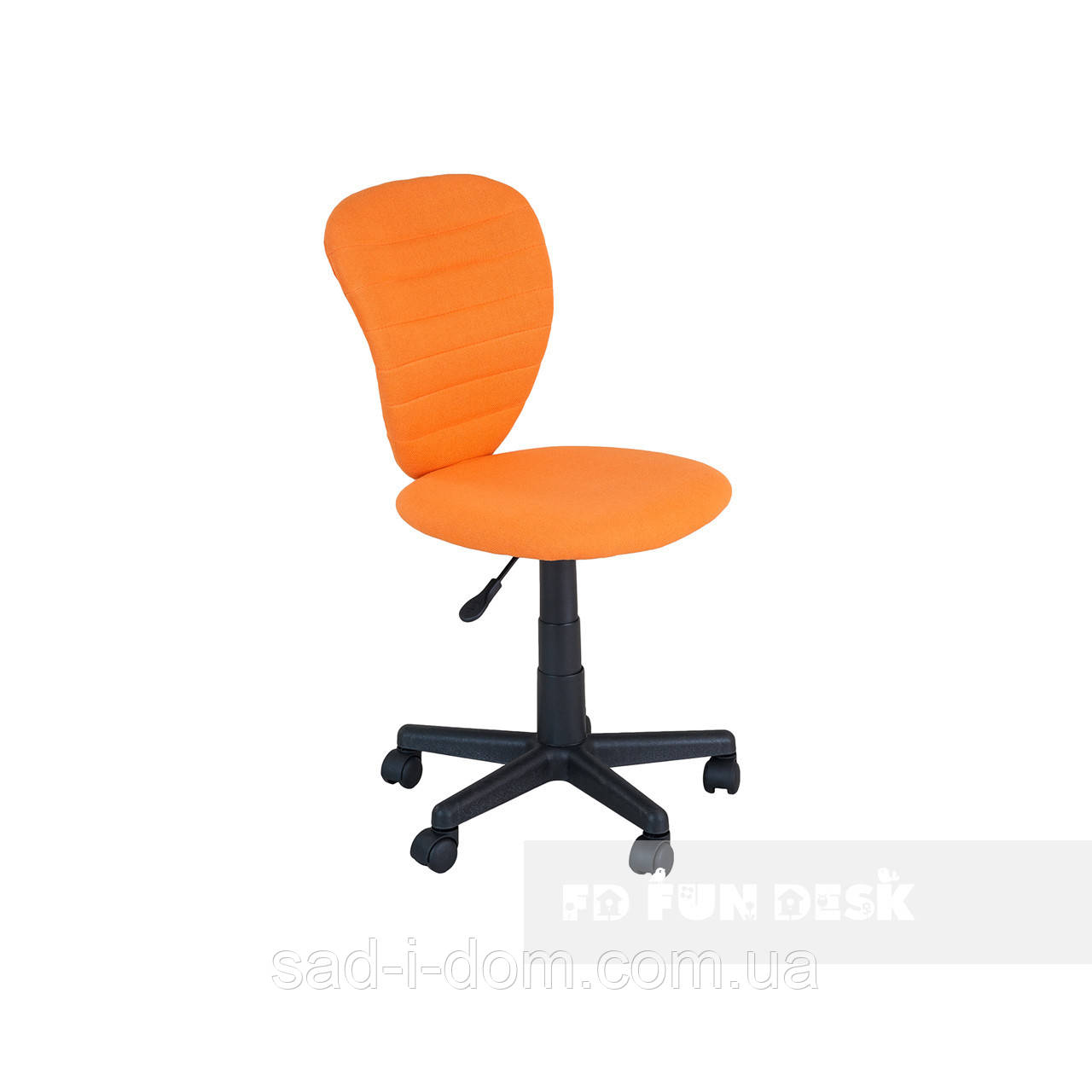 Детское ортопедическое кресло для школьника FunDesk LST2, оранжевое