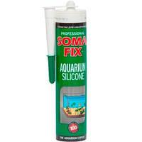 Силикон SOMA FIX прозрачный для аквариумов 310мл.