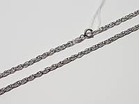 Срібний ланцюжок (Фантазійне). Артикул 44040НР 50 60, фото 1
