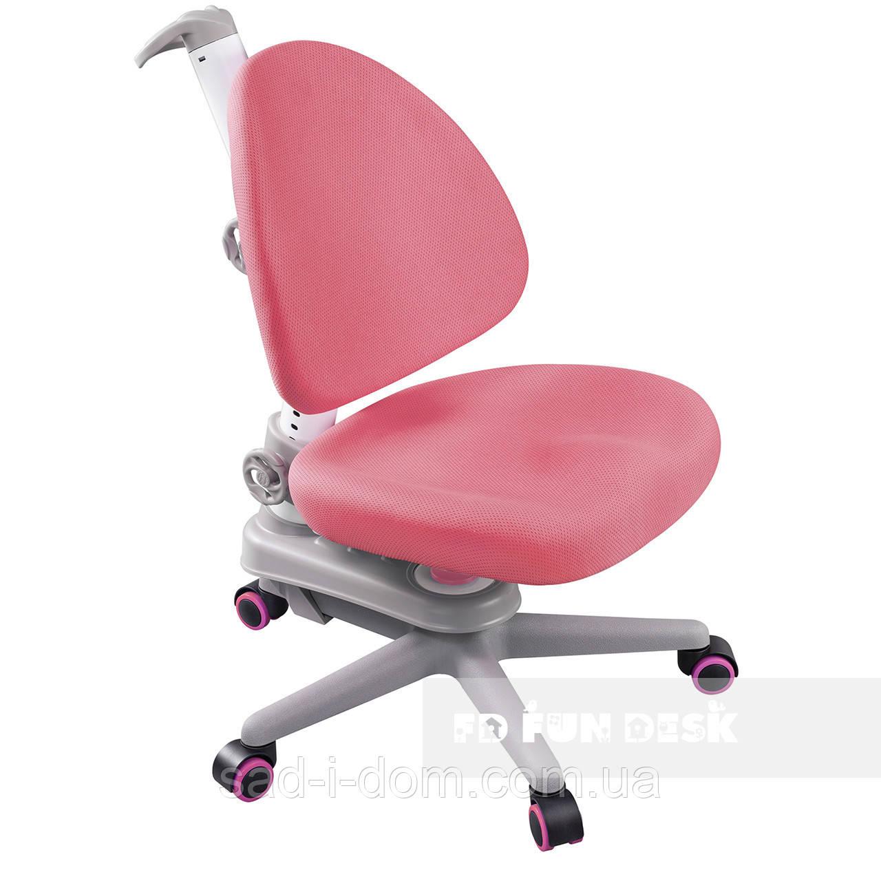 Детское компьютерное ортопедическое кресло FunDesk SST10, розовое