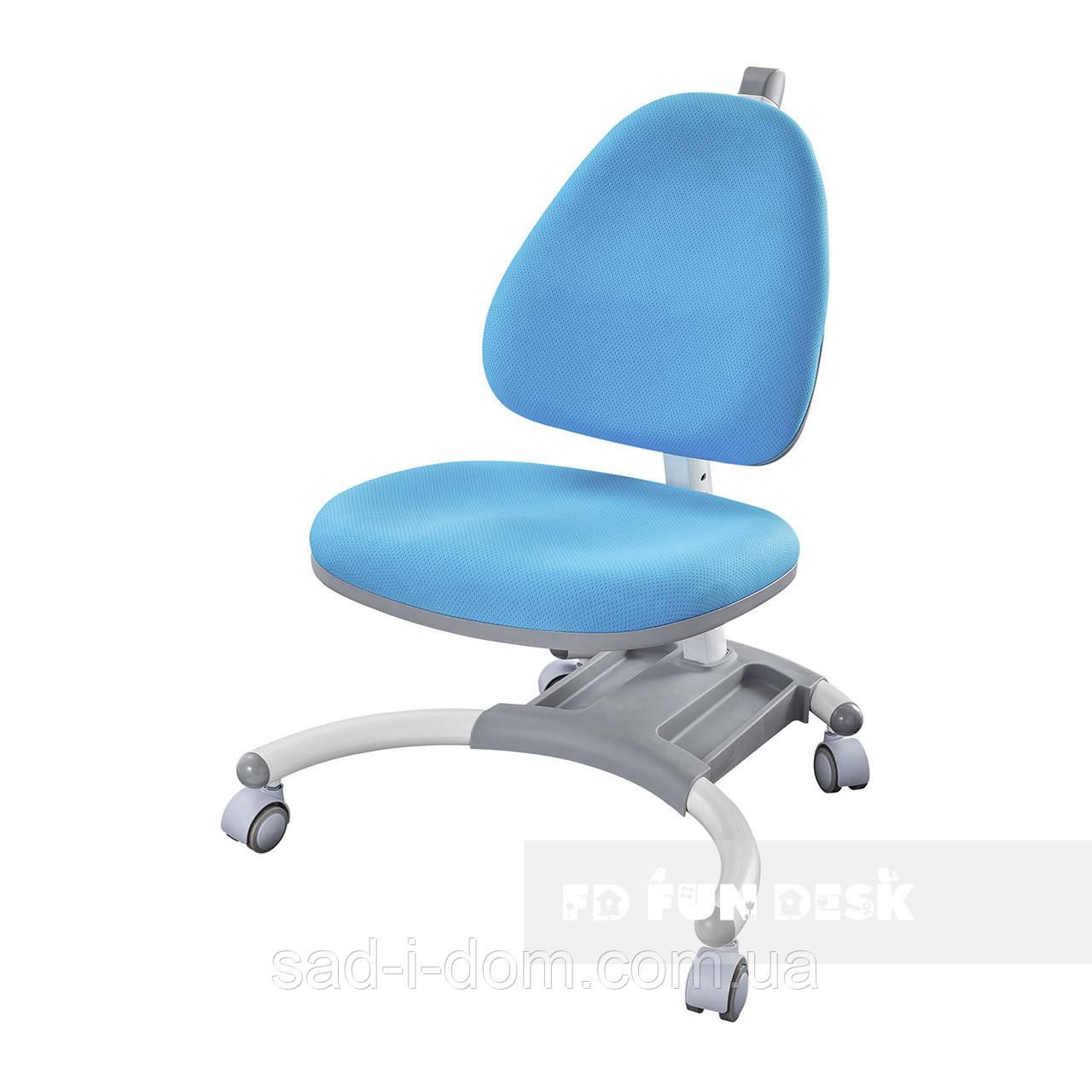 Детское компьютерное ортопедическое кресло FunDesk SST4, голубое