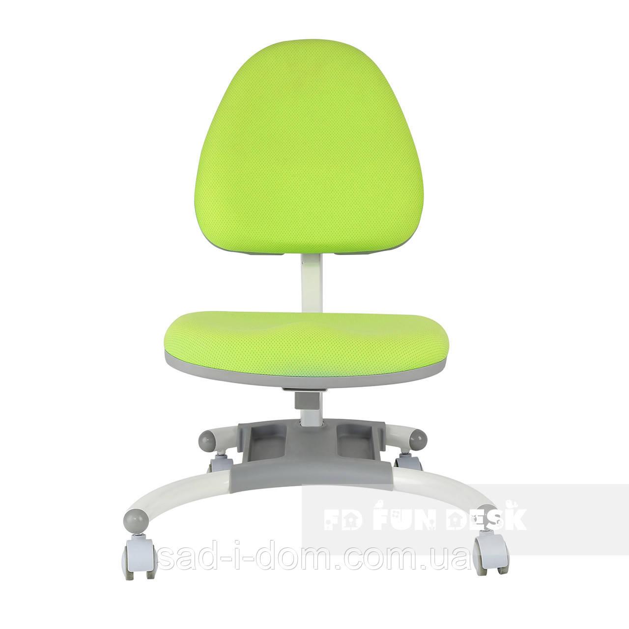 Детское компьютерное ортопедическое кресло FunDesk SST4, зеленое