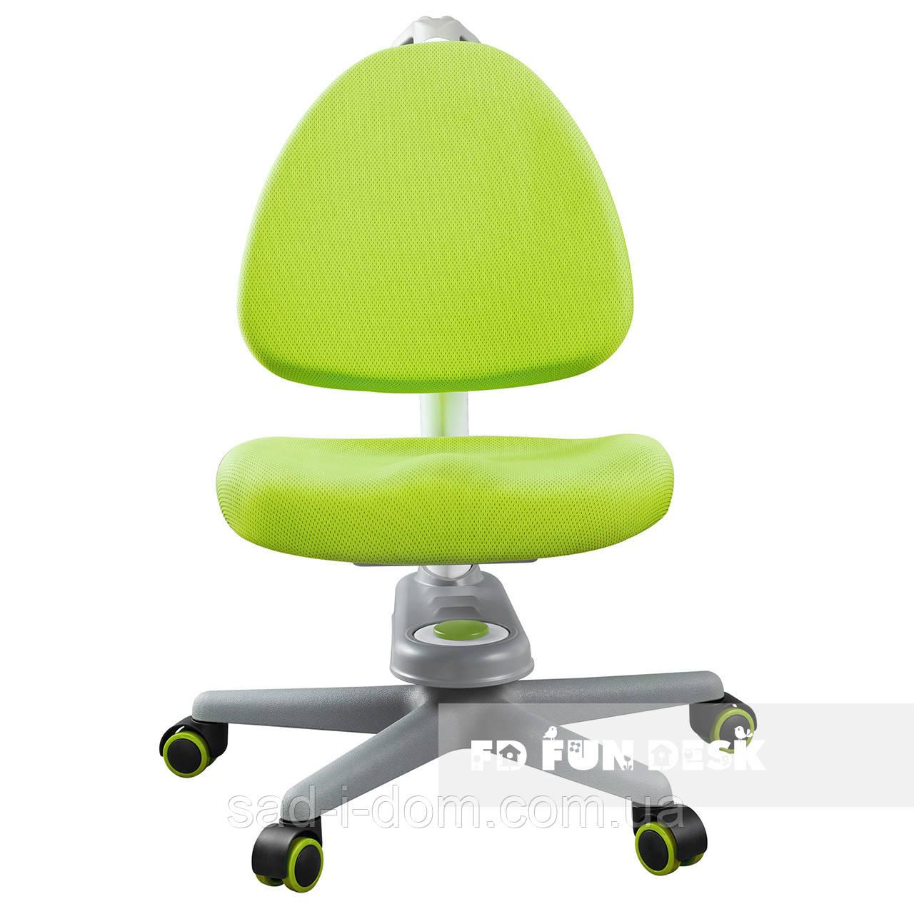 Детское компьютерное ортопедическое кресло FunDesk SST10, зеленое