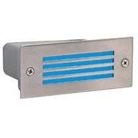 Светодиодный светильник встраиваемый в пол 0,9W синий Amber HOROZ