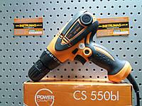 Шуруповерт сетевой POWERCRAFT CS 550bl