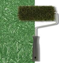 """Структурный валик Decor. 200 мм. Для создания эффекта """"крупное травяное покрытие"""", фото 2"""