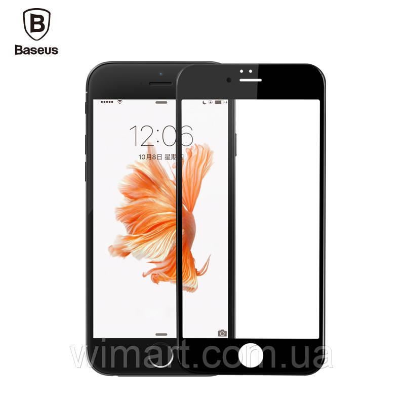 Защитное стекло Baseus 0.23 PET Soft 3D (SGAPIPH8P-BPE01) IPhone 8 Plus/7 Plus Black-Matte