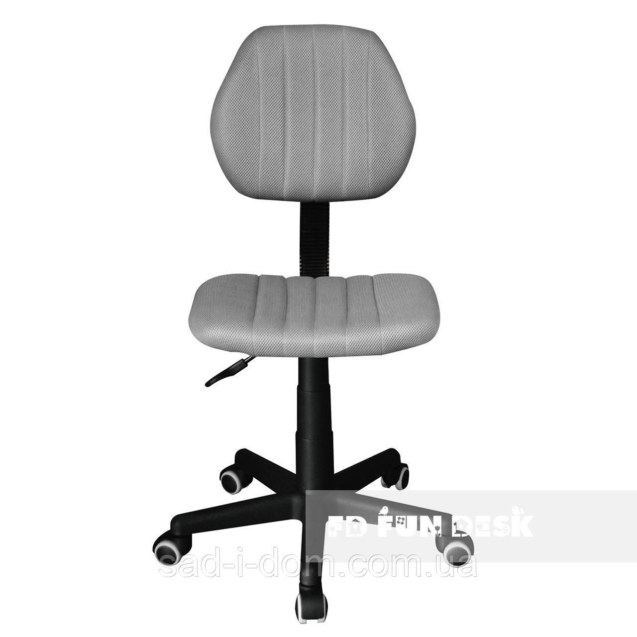 Детское ортопедическое компьютерное кресло FunDesk LST4, серое