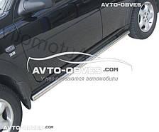 Подпорожник круглый для Land Rover Freelander I, Ø 42 | 51 | 60 | 70 мм