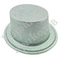 Шляпы детские Цилиндр блестящая