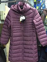 Женский пуховик Jack Wolfskin (S M L XL) фиолетовый
