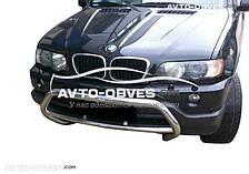 Кенгурятник без гриля BMW X5 E70 (Тамсан)