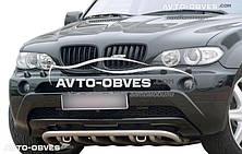 Кенгурятник нижний BMW X5 E70 (Тамсан)