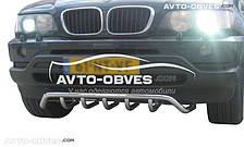 Кенгурятник нижний BMW X5 E53 (Тамсан)