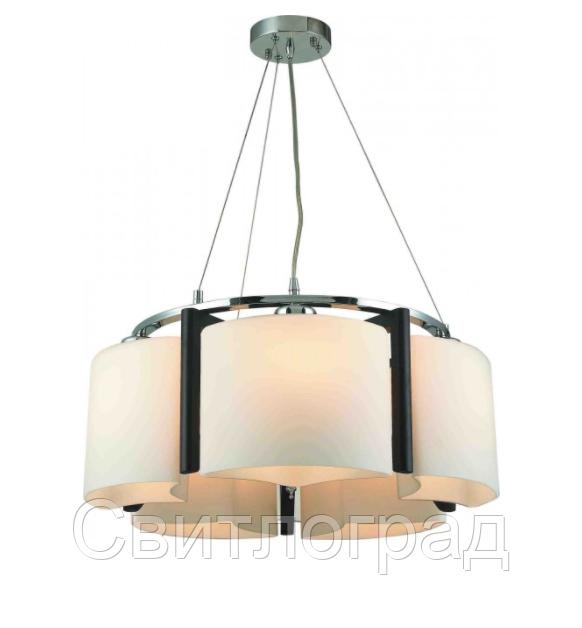 Светильник Подвесной Деревянный    Altalusse INL-3091Р-05 Chrome & Wengue