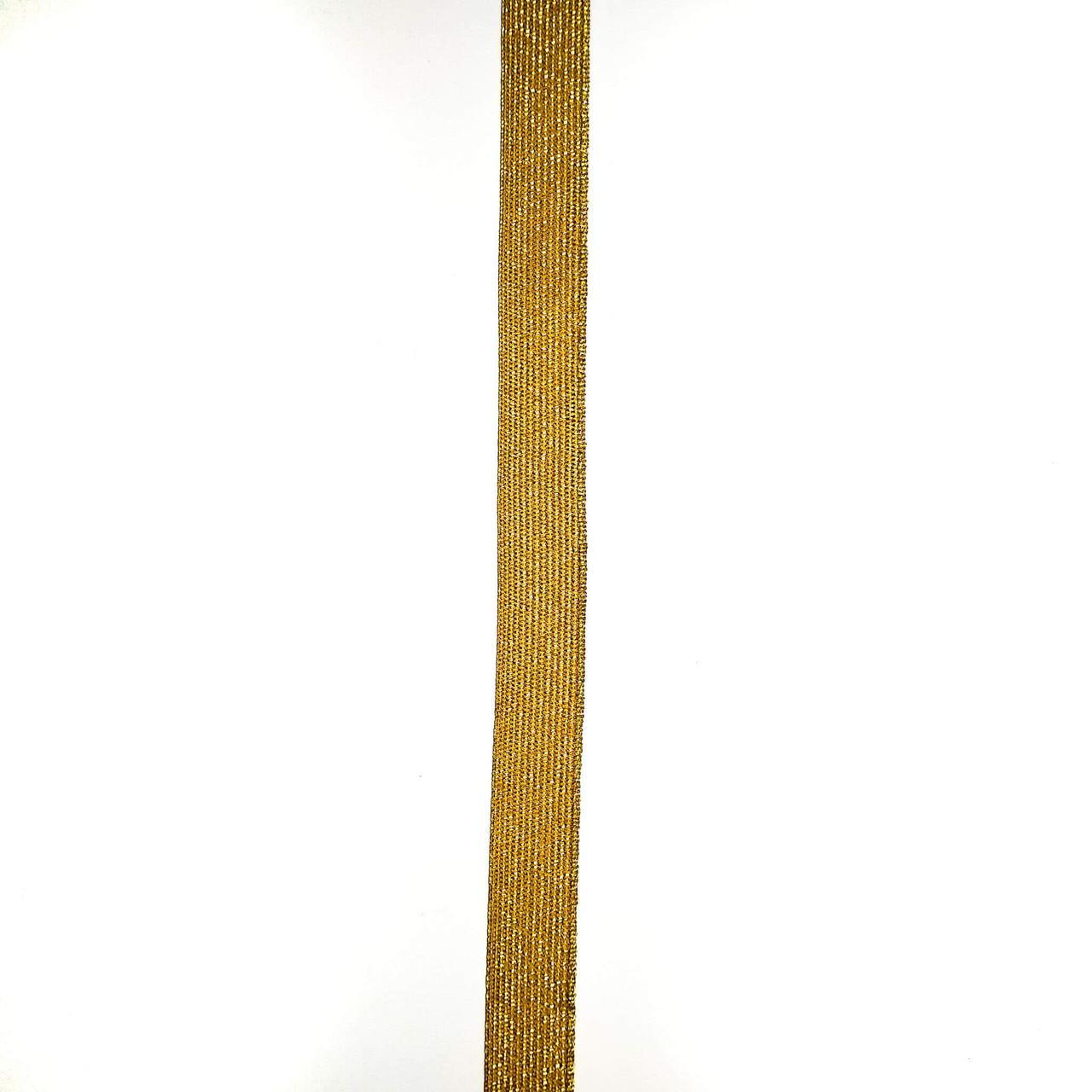 Лента галун с метанитью 13 мм (25м/рулон)
