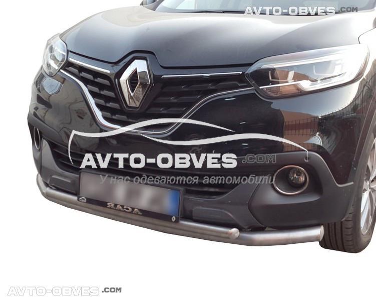 Дуга нижнього бампера подвійна Renault Kadjar