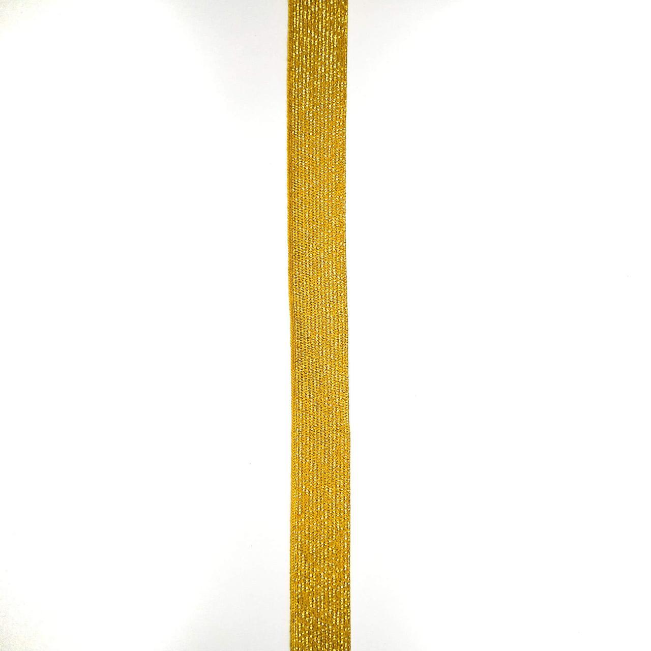 Лента галун с метанитью 15 мм (25м/рулон)