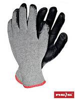 Защитные рукавицы изготовленные из трикотажа с дополнительным покрытием RDR SB - 10