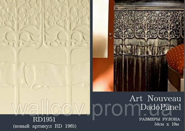 Панель Lincrusta Art Nouveau, фото 2