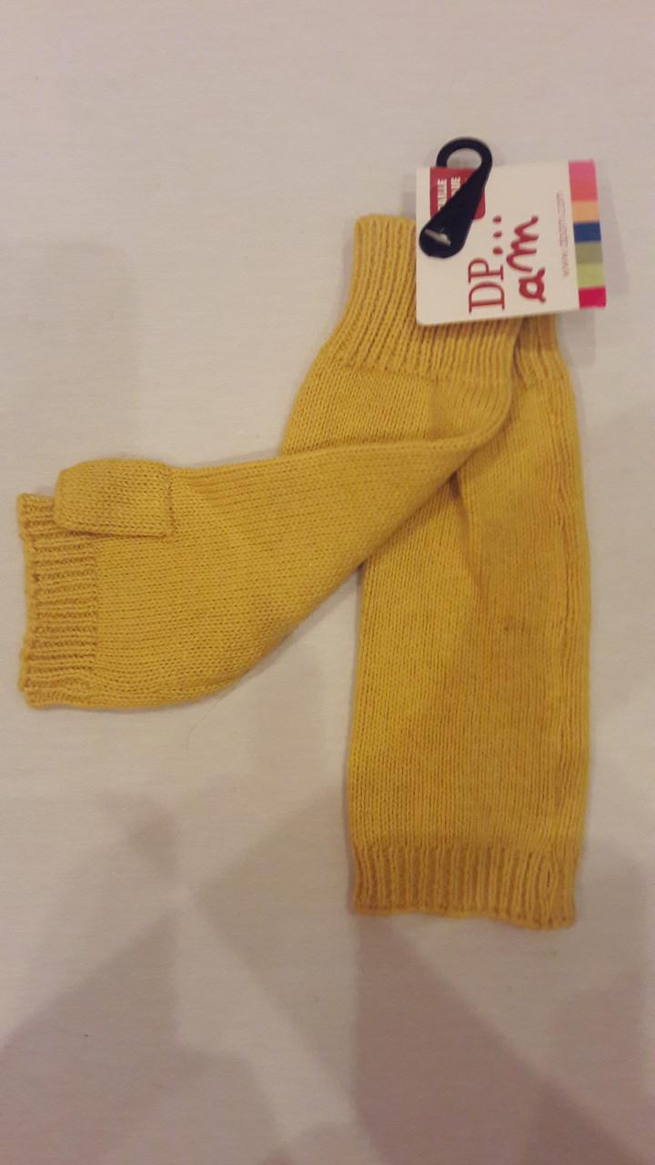Митенки для девочки DPam желтые