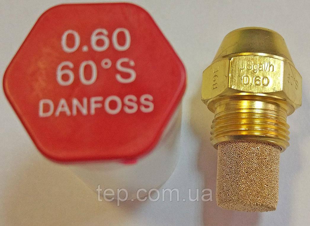 Форсунка Danfoss OD 0.6 Usgal/h 60° S (2.67 kg/h)