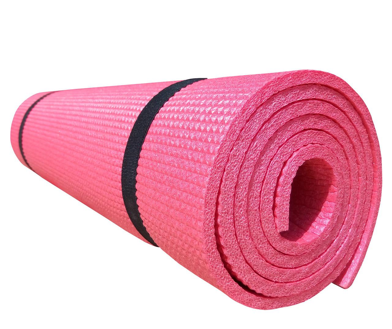 Коврик для аэробики, танцев, фитнеса, йоги «Light-6» 1800x600x6 мм