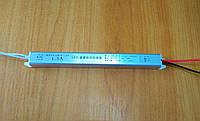 """Блок питания 12v 1.5а 18Вт """"slim"""" в металлическом корпусе для светодиодной ленты"""